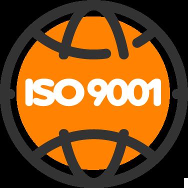 Ícone Certificação ISO 9001:2015